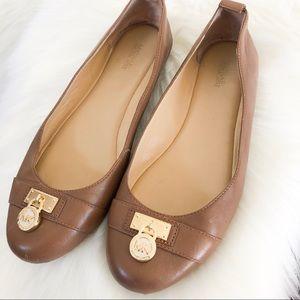 Women's Michael Kors Leather Flats 8 1/2